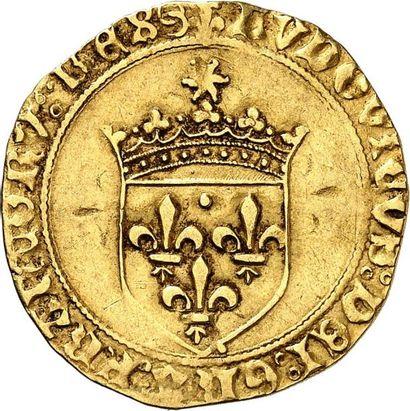 LOUIS XII (1498-1515). Écu d'or au soleil...