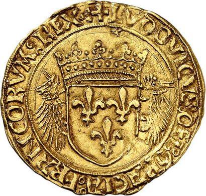 LOUIS XII (1498-1515) Écu d'or au porc-épic...
