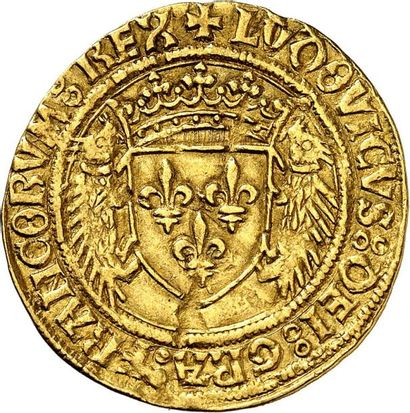 LOUIS XII (1498-1515). Écu d'or au porc-épic...
