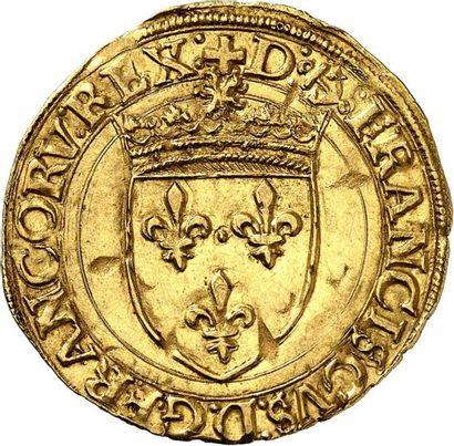 FRANÇOIS Ier (1515-1547). Écu d'or au soleil...