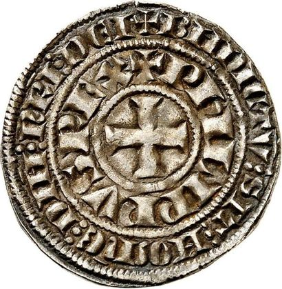 PHILIPPE IV LE BEL (1285-1314). Maille blanche....