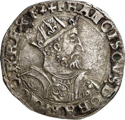 FRANÇOIS Ier (1515-1547). Teston d'argent...