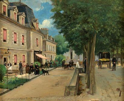 École de Pont Aven, fin du XIXe - début du XXe siècle