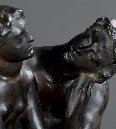 Joseph-Antoine Bernard (1866-1931) La jeunesse charmée par l'Amour Modèle circa 1906...