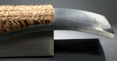 Maria PERGAY (née en 1930) * Lit de repos, modèle «tapis volant», modèle créé en...