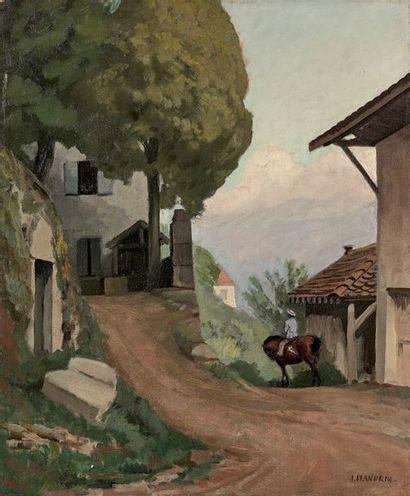 Jules-Léon FLANDRIN (1871-1947)