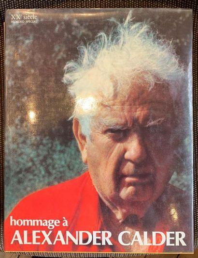 Alexandre CALDER - Hommage à Alexander Calder,...
