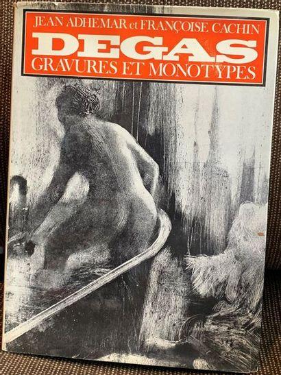 Edgar DEGAS - Jean Adhémar, Edgar Degas....