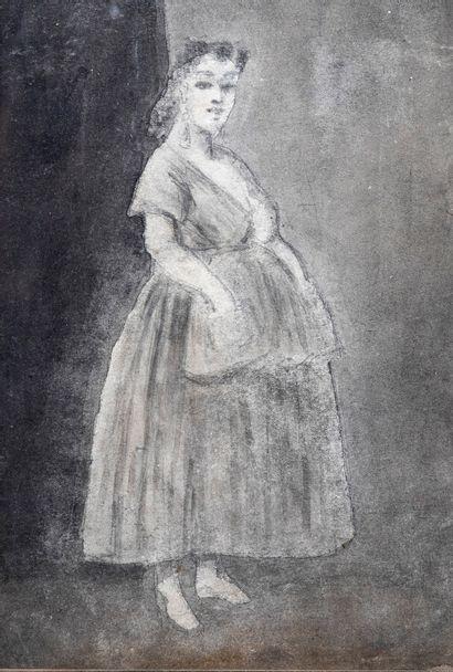 Constantin GUYS (1802/5-1892) attribué à...