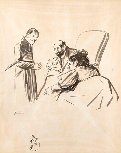 Jean-Louis FORAIN (1852-1931)  La famille...