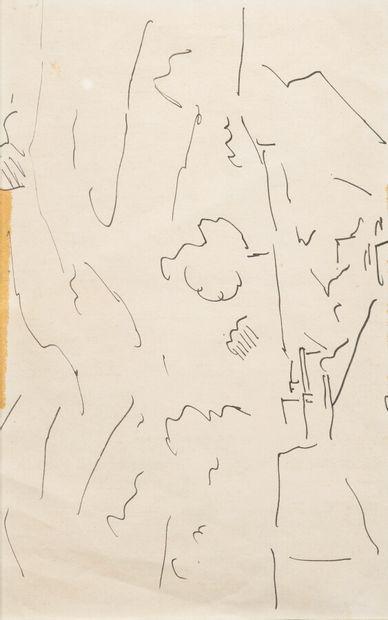Pierre TAL COAT (1905-1985)  Paysages, arbres,...
