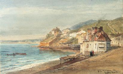 Justin-Pierre OUVRIÉ (1806-1879)  Vue de...