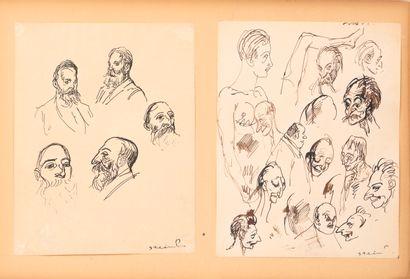 Théophile Alexandre STEINLEN (1859-1923)...