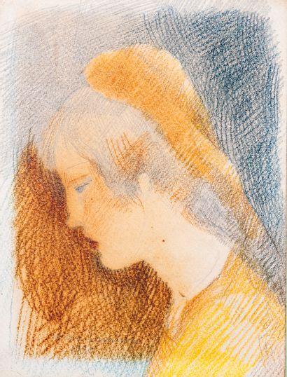 Marie LAURENCIN (1883-1956)  Portrait d'une...