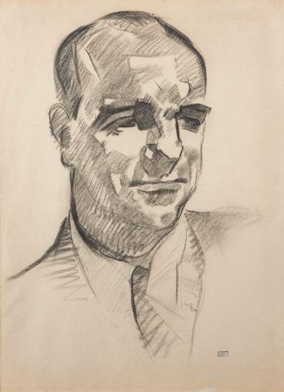 . Emmanuel GONDOUIN (1883-1934)  Portrait...