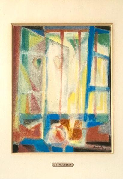 Alfred MANESSIER (1911-1993) (photo)  La...