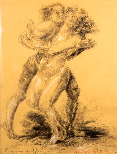 Henri-Jules-Charles DE GROUX (1866-1930)...