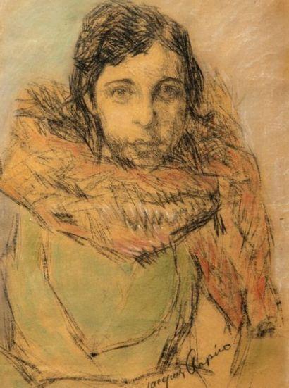 Jacques CHAPIRO (1887/97-1972)  Portrait...