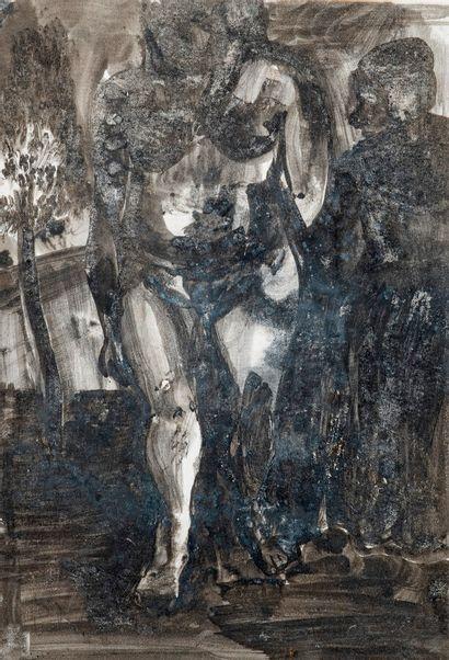 Pierre TAL COAT (1905-1985)  Nu  Technique...