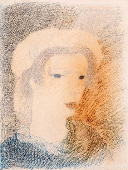 Marie LAURENCIN (1883-1956)  Portrait de...