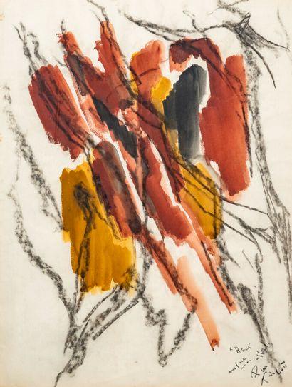 Pierre TAL COAT (1905-1985)   Faille dans...