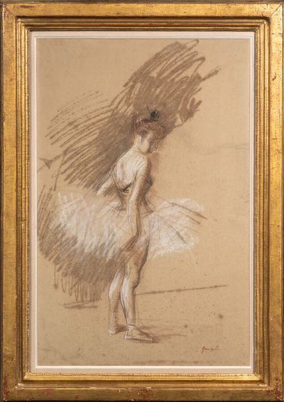 Jean- Louis FORAIN (1852-1931)  La danseuse`...