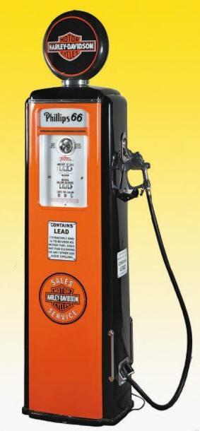 POMPE A ESSENCE TOKHEIM Rare pompe à essence de marque « Tokheim » Fort Wayne Indiana...