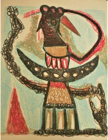 Jean-Michel ATLAN (1913-1960) Composition,...