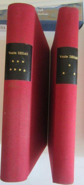 Edgar DEGAS- Atelier Edgar Degas, 4 ventes,...