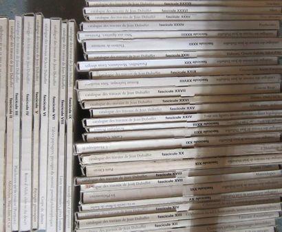 JEAN DUBUFFET Max Loreau, Catalogue raisonné...
