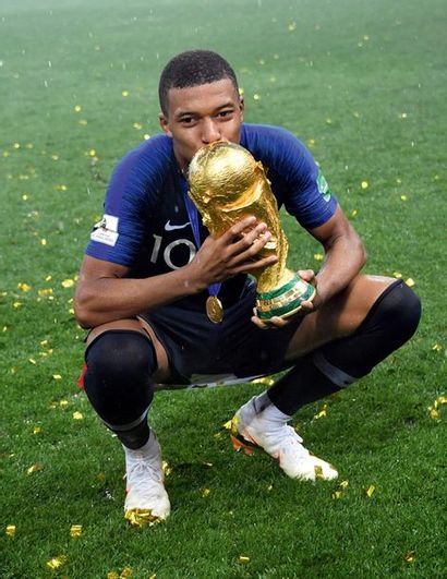 Kylian Mbappé - Coupe du monde 2018 © Pierre...