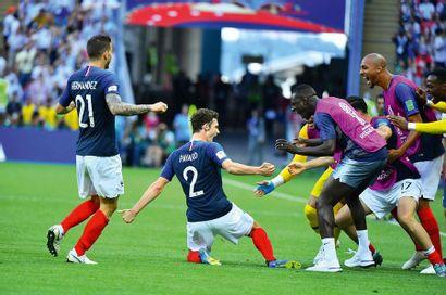 Benjamin Pavard, France-Argentine - Coupe...