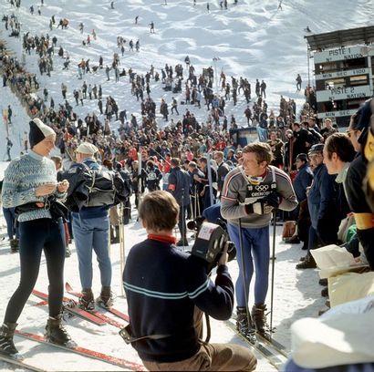Jean-Claude Killy aux JO de Grenoble - 1968...