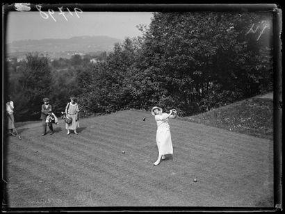 Jeanine Gaveau, Coupe Femina de golf – 1924 ©...