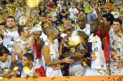 Équipe de France de basket, championnat d'Europe...
