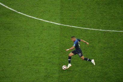 Kylian Mbappé, France-Belgique - Coupe du...