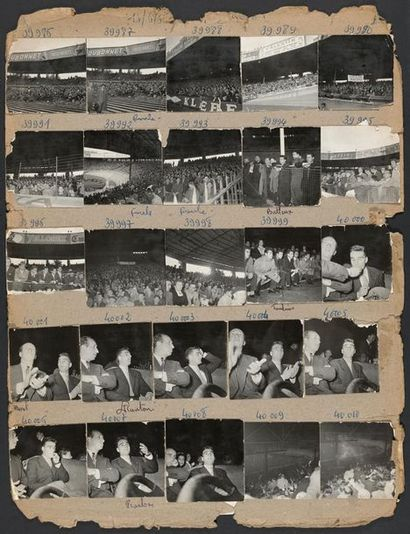 © L'Équipe 13 juin 1956. Finale de la Coupe...