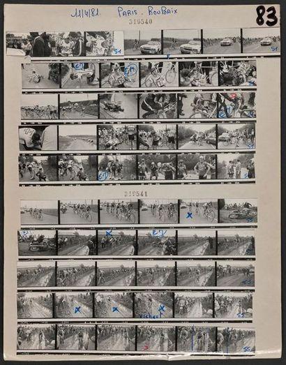 11 avril 1981. © L'Équipe Paris-Roubaix....