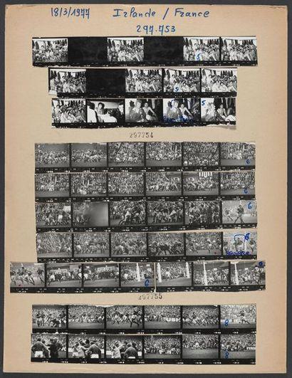 19 mars 1977. © L'Équipe Tournoi des 5 Nations...
