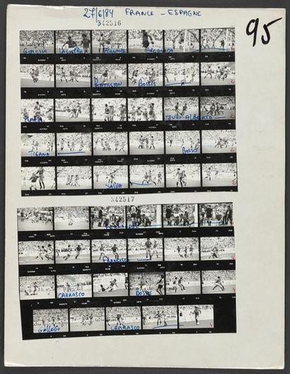 27 juin 1984. © L'Équipe Finale de l'Euro...