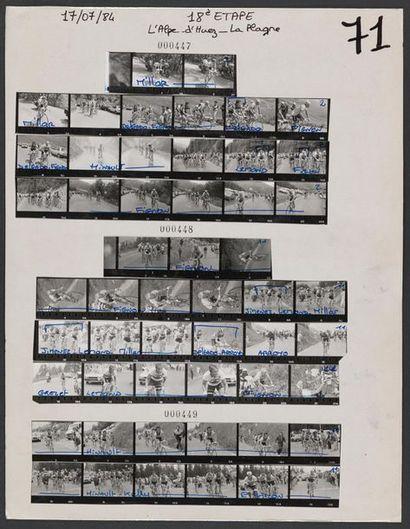 © L'Équipe 17 juillet 1984. Tour de France,...