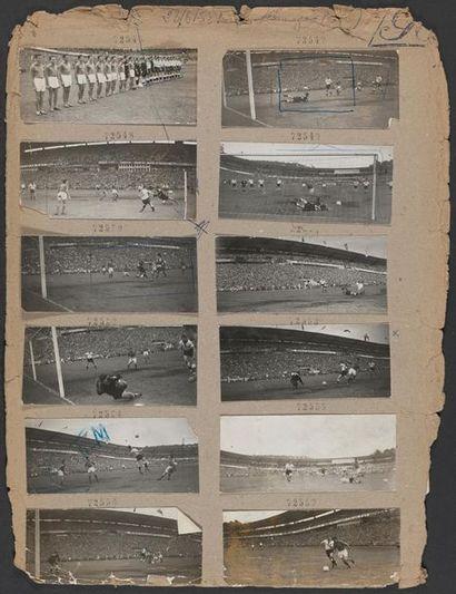 © L'Équipe 28 juin 1958. Coupe du monde de...