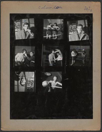 © Collection L'Équipe 1960 Jean-Paul Belmondo...
