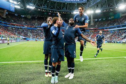 Paul Pogba, Antoine Griezmann, Samuel Umtiti,...