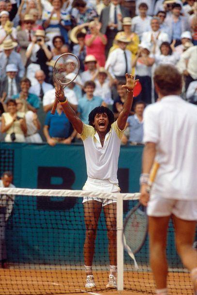 Yannick Noah, finale de Roland-Garros - 1983...