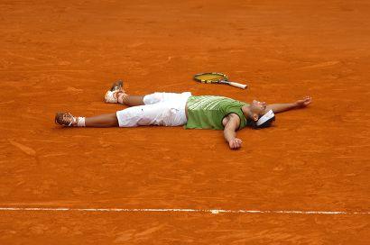 Rafael Nadal, finale de Roland-Garros - 2005...