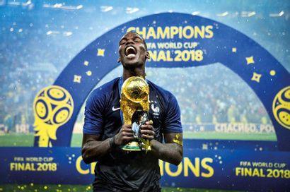Paul Pogba - Coupe du monde 2018 © Pierre...
