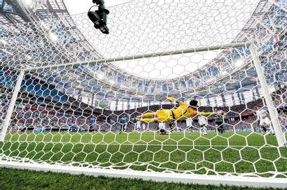 Hugo Lloris, Uruguay-France - Coupe du monde...