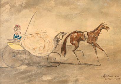 Constantin GUYS (Attribué à) (1802-1892)...