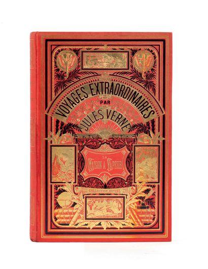 [Indes] La Maison à Vapeur par Jules Verne....